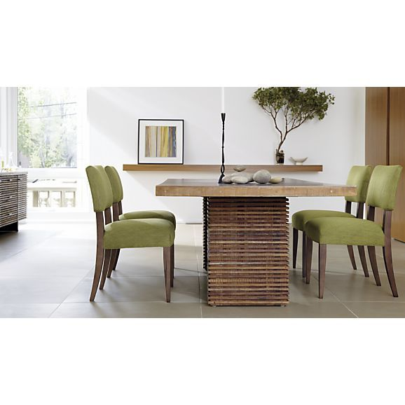 Paloma Square Dining Table In Dining Tables Crate And Barrel