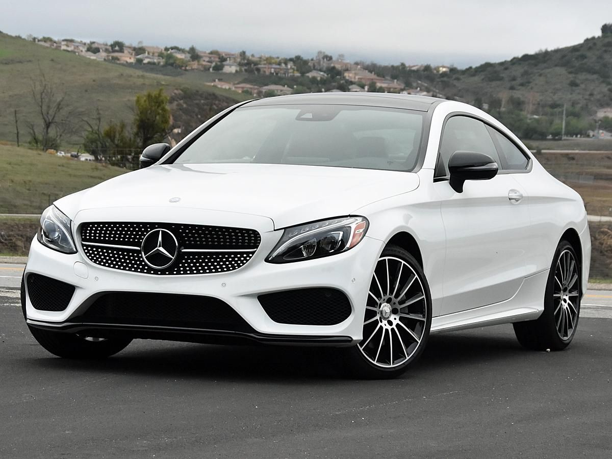 Short Report The New 2017 Mercedes C Class Coupe Lacks Dramatic