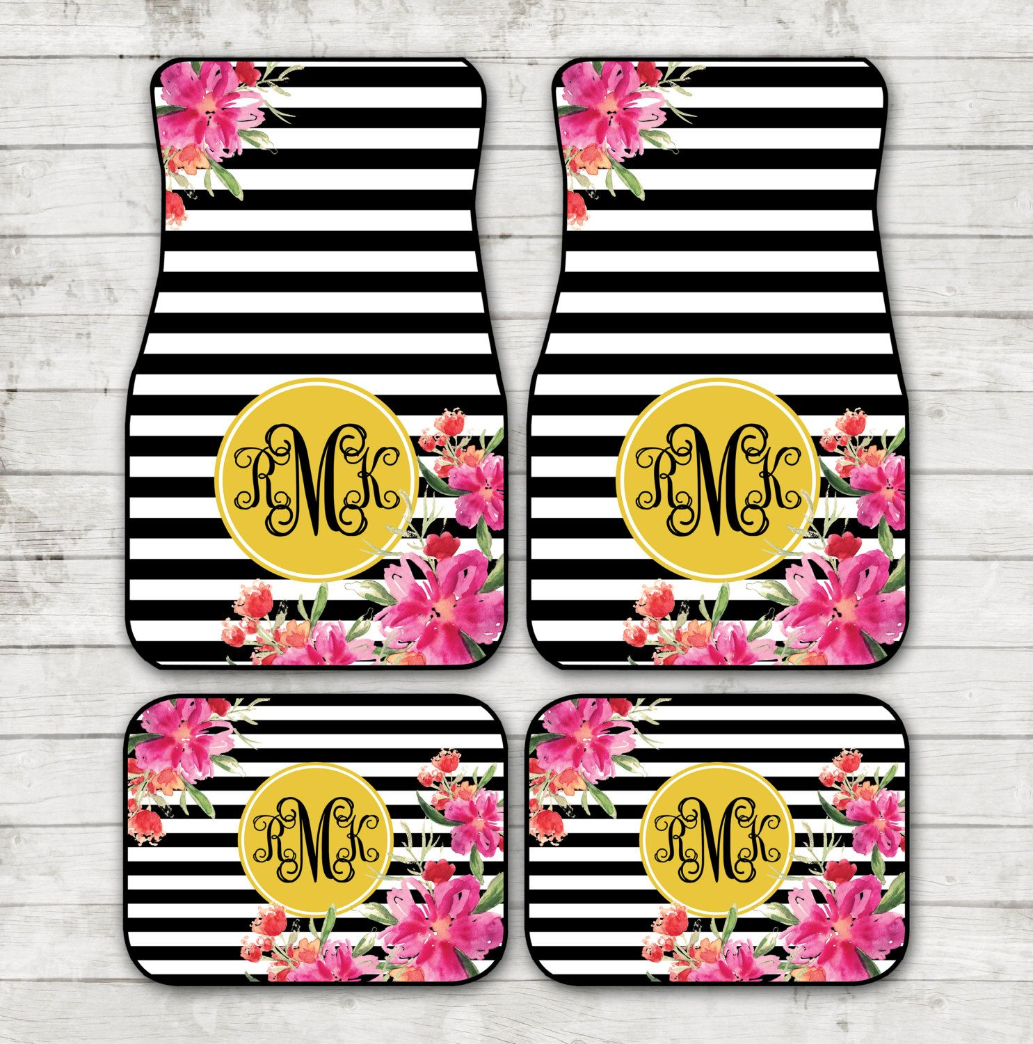 of girly nongzi on co sassysoutherngals unique accessories for etsy to floor car mats monogram monogrammed new
