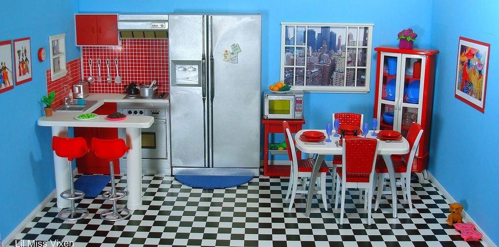 kitchen art ideas retro nyc kitchen