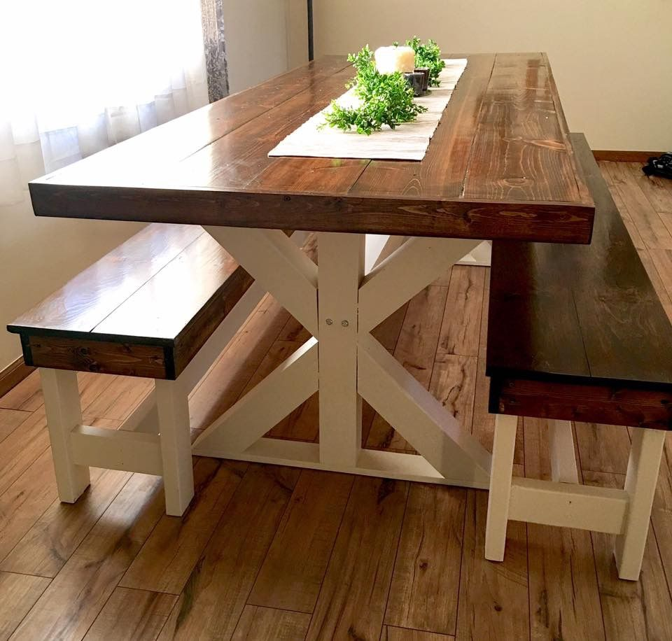 Farmhouse Table 8ft