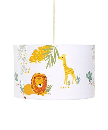 Sleepy Savannah Light Shade Bedroom