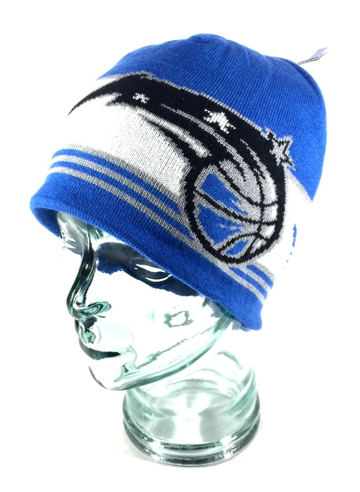 90d2dd96130 Double Up City Skully Knit Beanie. Style  Cuffless   Fitted. Orlando Magic  NBA