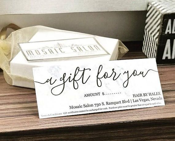 Printable gift certificate gift card template simple rustic kraft printable gift certificate template no color ink needed a variety of gift yadclub Choice Image