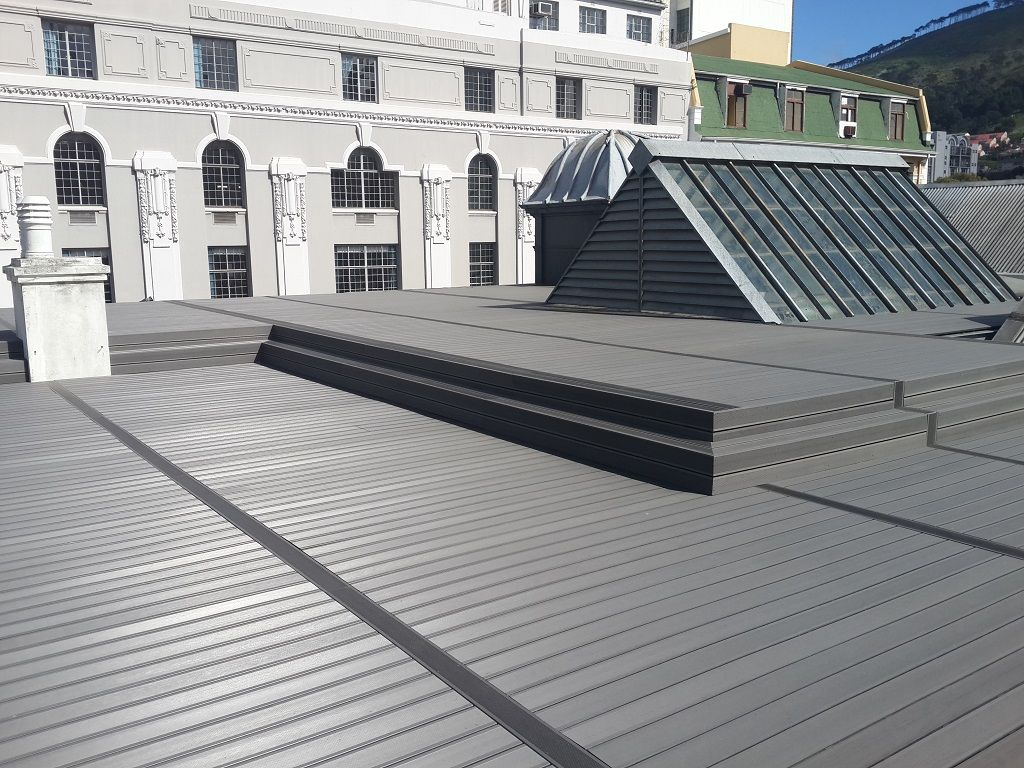 Rich Color Wood Plastic Composite Product Tongue And