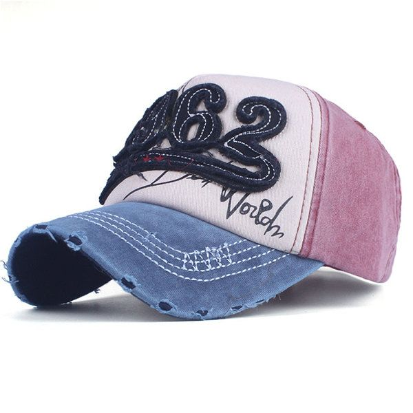 f55ba9b0c7d510 Women Men Cotton L962 Embroidery Washed Breathable Adjustable Sunshade Baseball  Cap Sport Hat