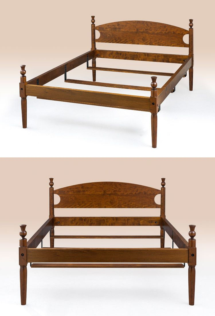 Post 1950 156308 queen size county style poster bed frame cherry wood furniture classic design buy it now only 1725 on ebay queen county style