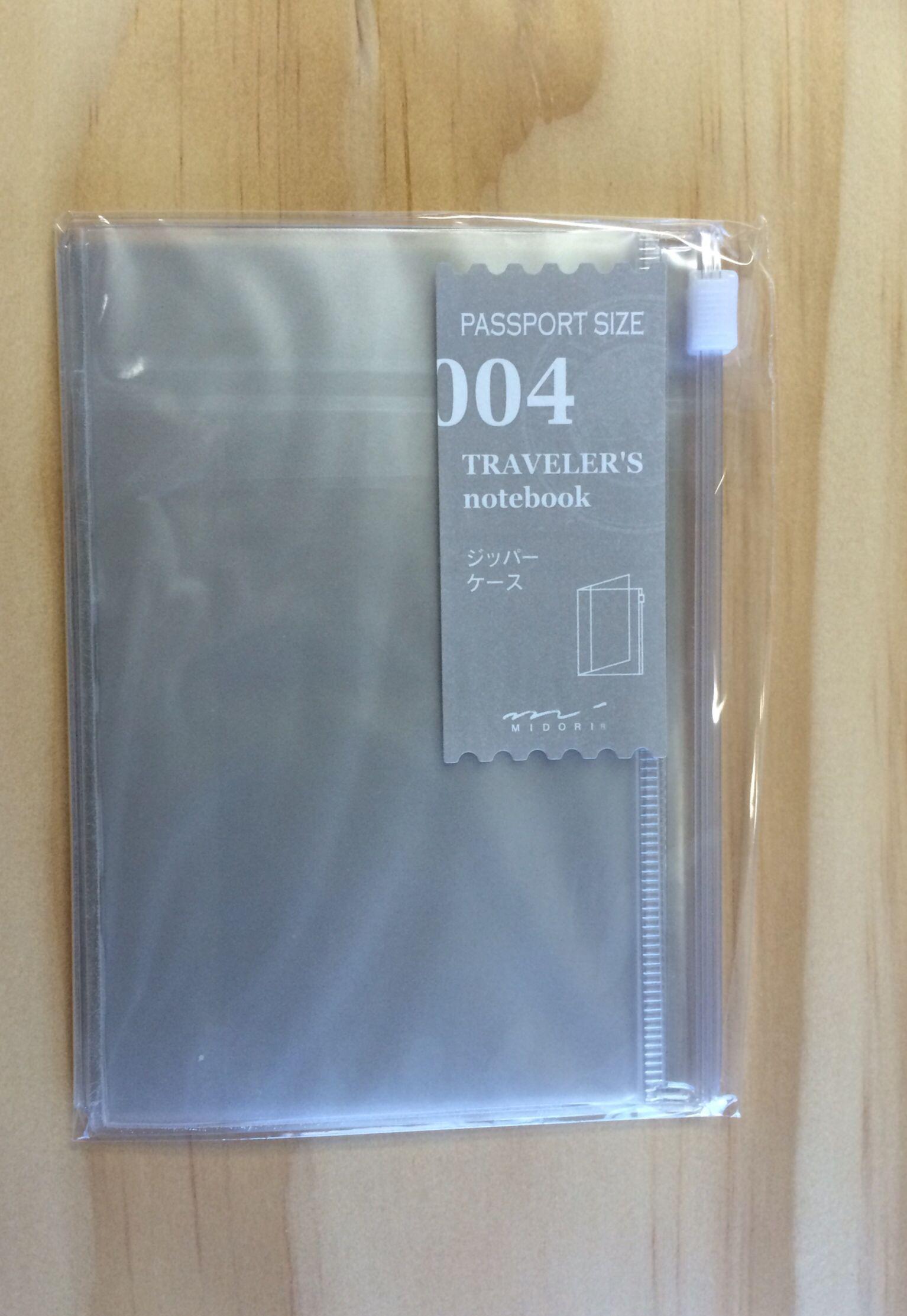 004 refill for passport size Midori Traveler's Notebook