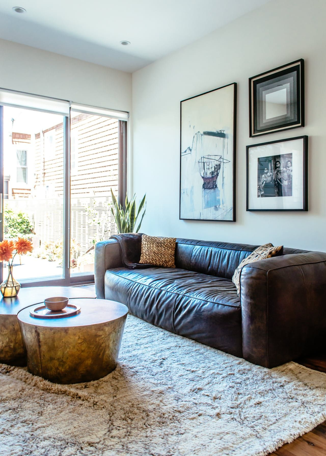 Warm, Textured & Classic Modern Style in San Francisco