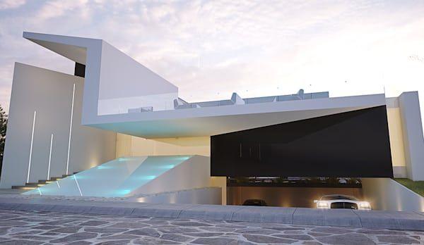 Casa Valle Verde de 21arquitectos Verde, Encontrado y Para el hogar - fachadas contemporaneas