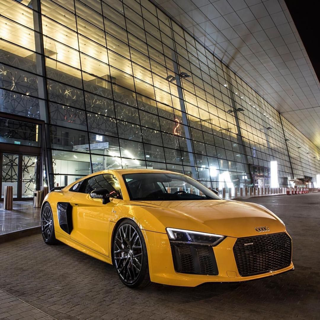 Yellow Audi R8 Audi, Yellow car, Bugatti