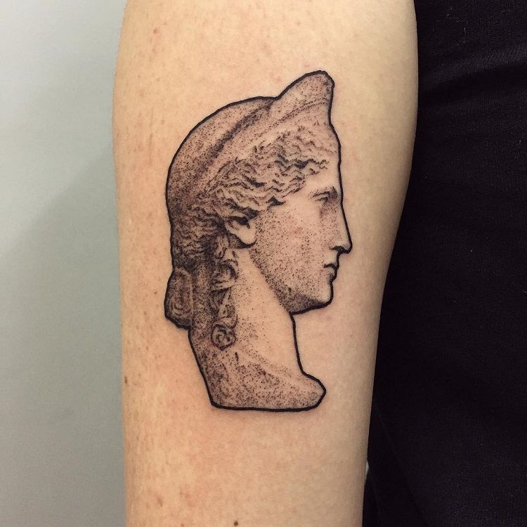 29 Tattoos Inspired By Depression: 29 Museum-Worthy Tattoos Inspired By Art History
