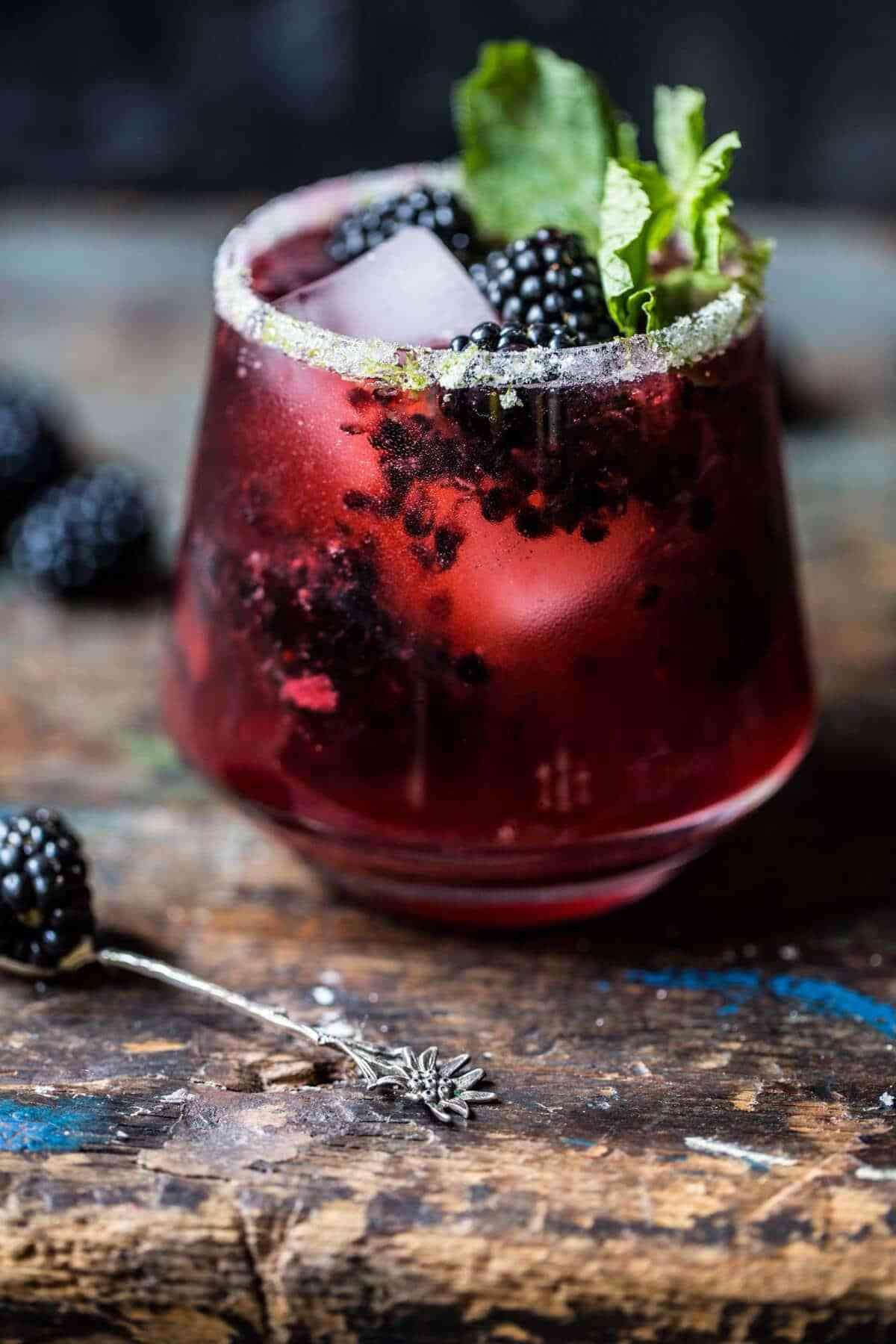 Blackberry Bourbon Smash Recipe Food drink, Food, Fall