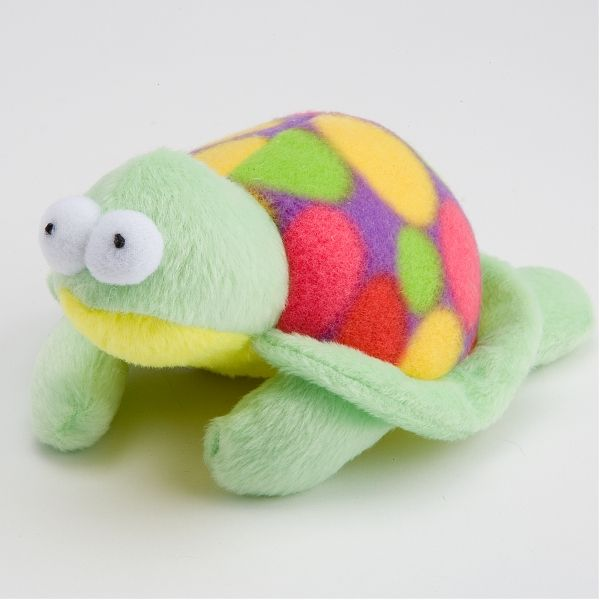 Plush Turtle Squeak Toy Toyshoppe Plush Bat Dog Toy With Rope