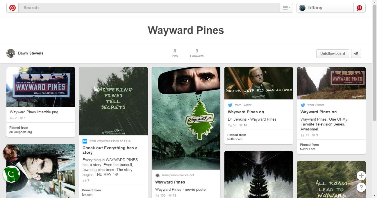 Pinterest • The world's catalog of ideas | Wayward pines, Jenkins, World