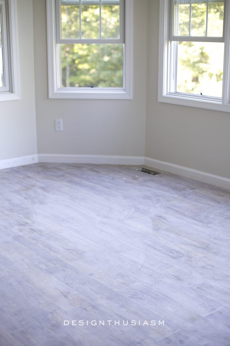 Adding a Faux Wood Tile Floor in the New Kitchen | Faux wood tiles ...