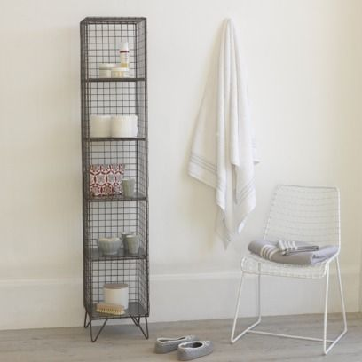 HIGHWIRE. This heavy duty wire rack is hand welded and given a ...
