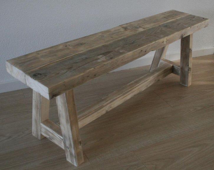 Houten Bankje Slaapkamer : Houten bankje kiom in hout houten bankjes en