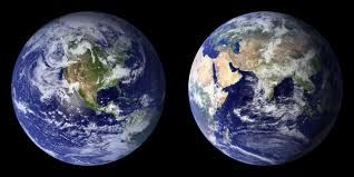 THE BLUE MARBLE. Planet Earth.