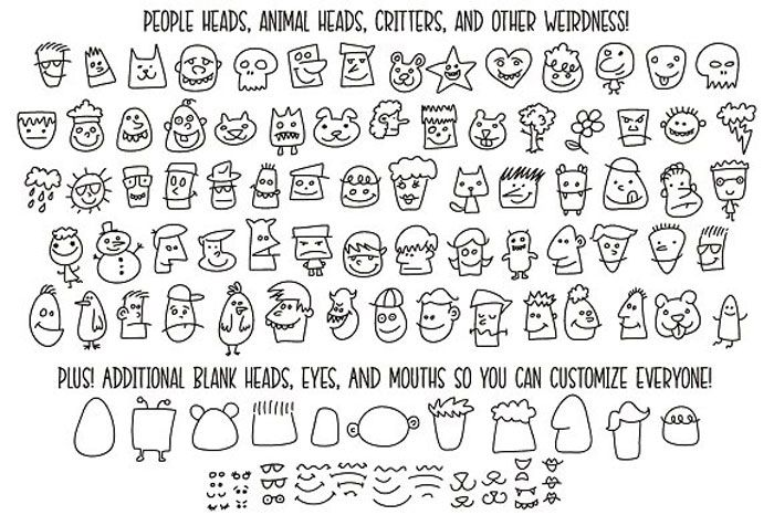 Download Download These Doodle Fonts and Use Them in Fun Designs ...