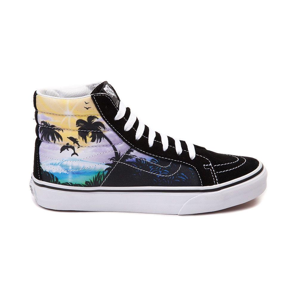 d97af6d71c Vans Sk8 Hi Slim Dolphin Beach Skate Shoe