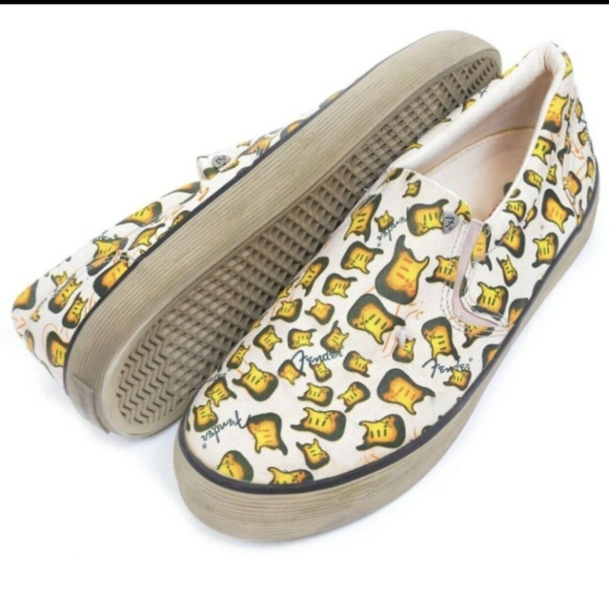 RARE! Fender Guitar Shoes Men's Sneakers #fenderguitars RARE! Fender Guitar Shoes Men's Sneakers #fenderguitars