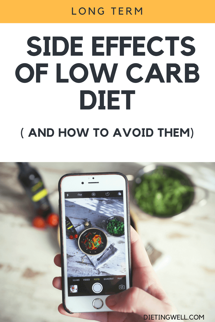 side effects long term low carb diet