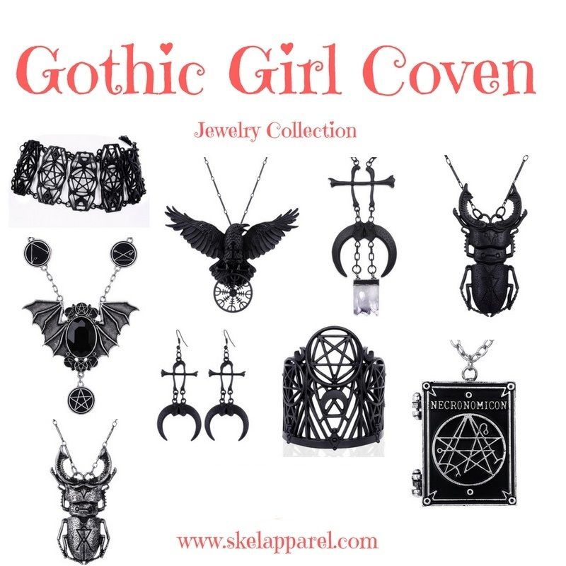 New in stock and ready to ship! Witchcraft Gothic Jewelry Last min - last min halloween costume ideas