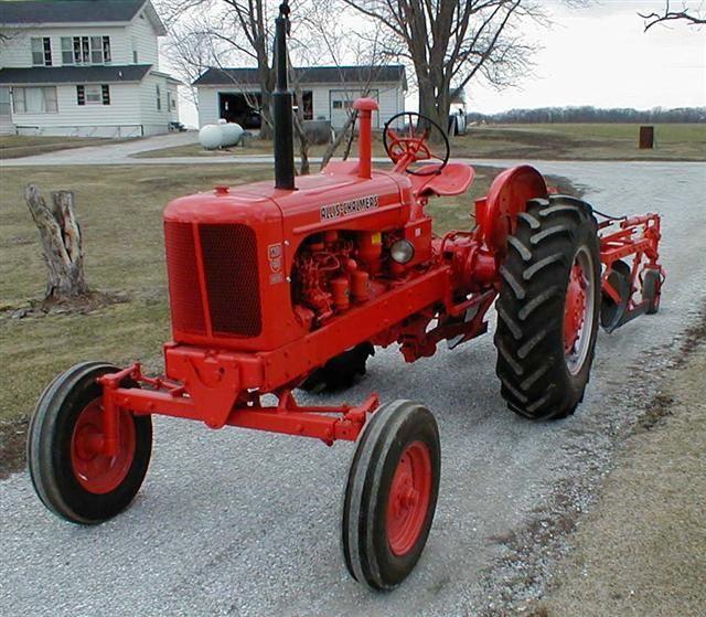 AC Allis Chalmers tractor 1955   Cars   Pinterest   Allis ...
