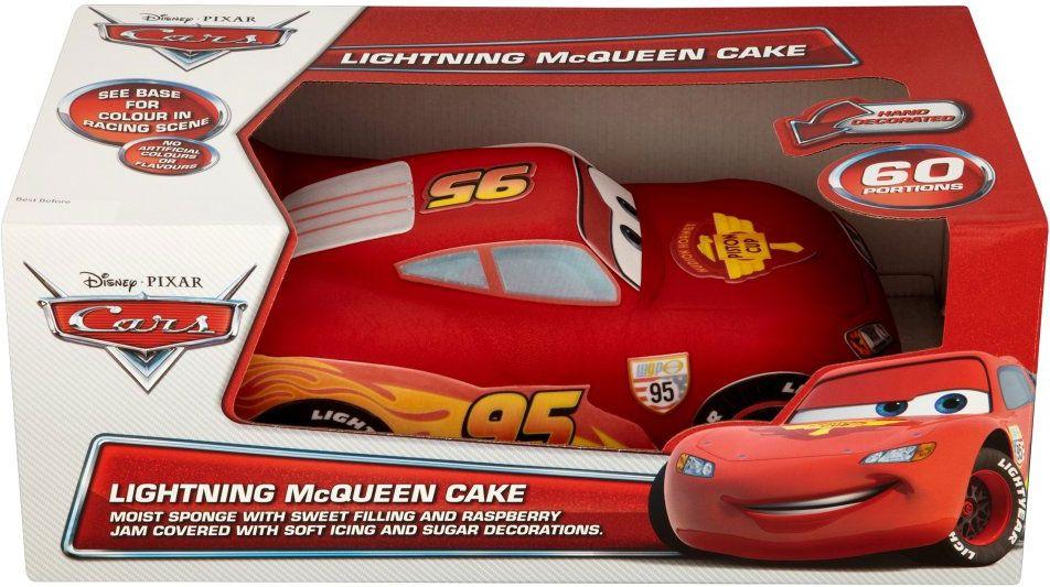 Lightning Mcqueen Cake Tesco Cakepins Stuff To Buy Pinterest
