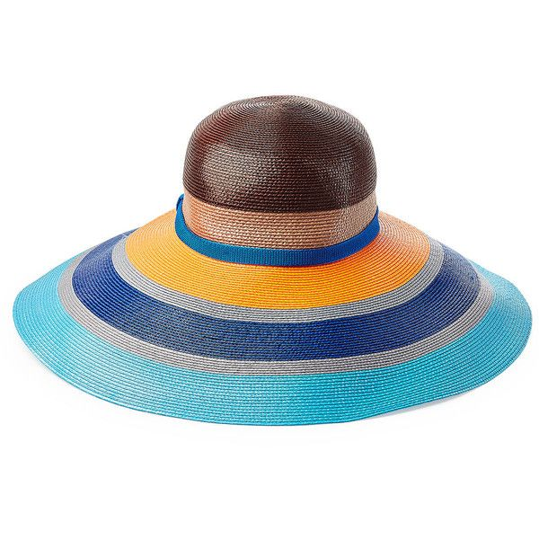 Missoni Mare Wide Brimmed Sun Hat ( 265) ❤ liked on Polyvore featuring  accessories eb60a626c50