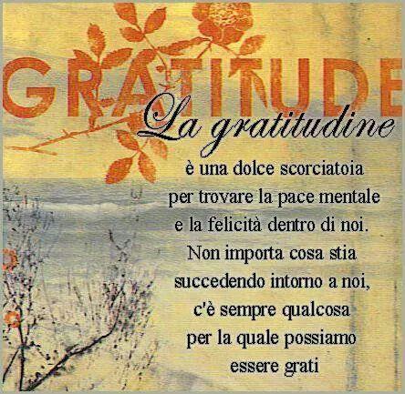 Favorito Gratitudine sempre | Parole | Pinterest | Gratitudine, Citazioni e  RX05