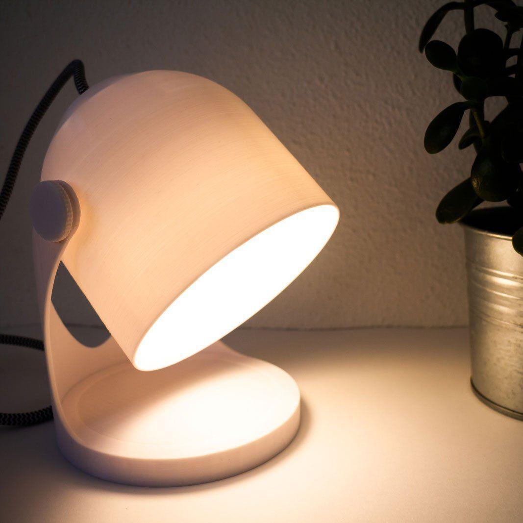 Designed A 3d Printable Minimal Bedside Lamp Here Is The Result Industrialdesign Bedside Lamp Lamp Bedside Lamps Wood