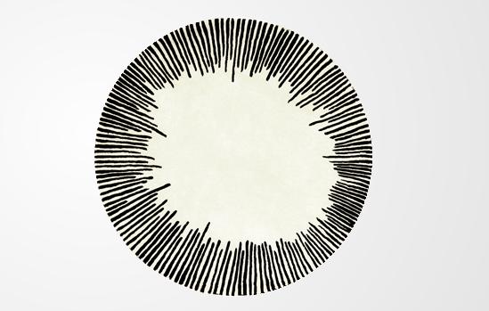 roche bobois equinoxe rug in pure new