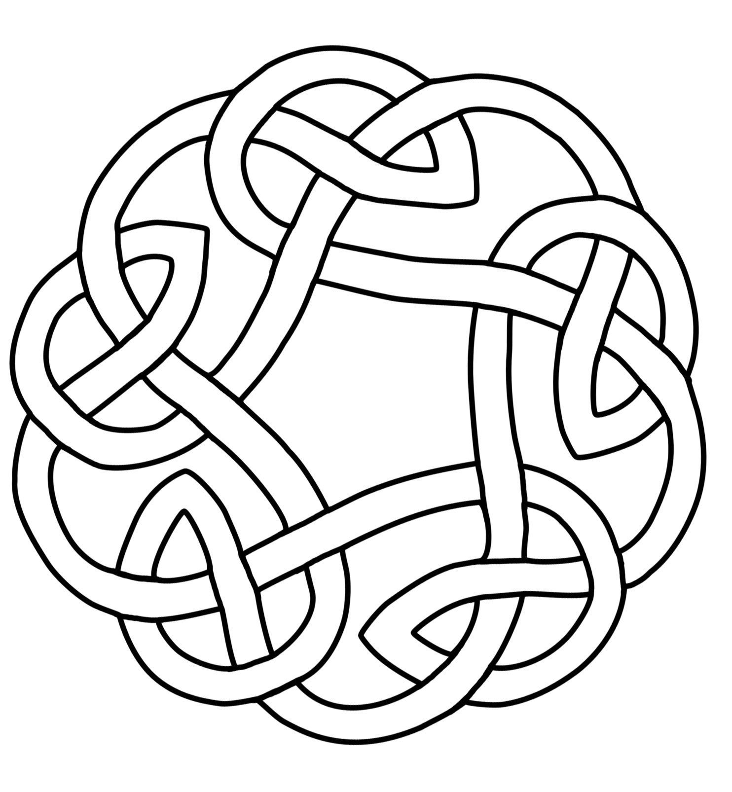 Celtic Knot Circle Celtic Quilt Celtic Knot Designs Celtic Knot