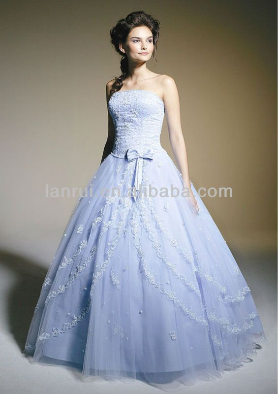 Periwinkle Blue Wedding Dress What I Wish I Could Have For A