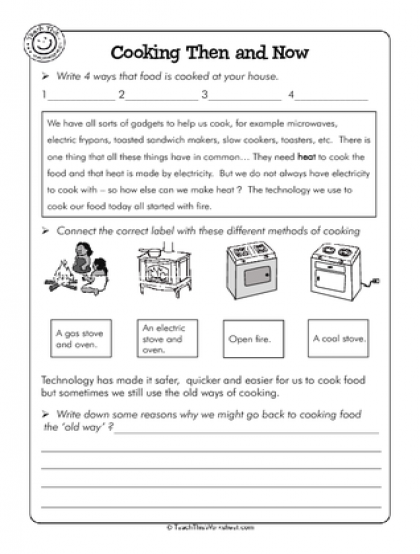 Cooking Then and Now (2) | FOOD UNIT | Pinterest | Social studies ...