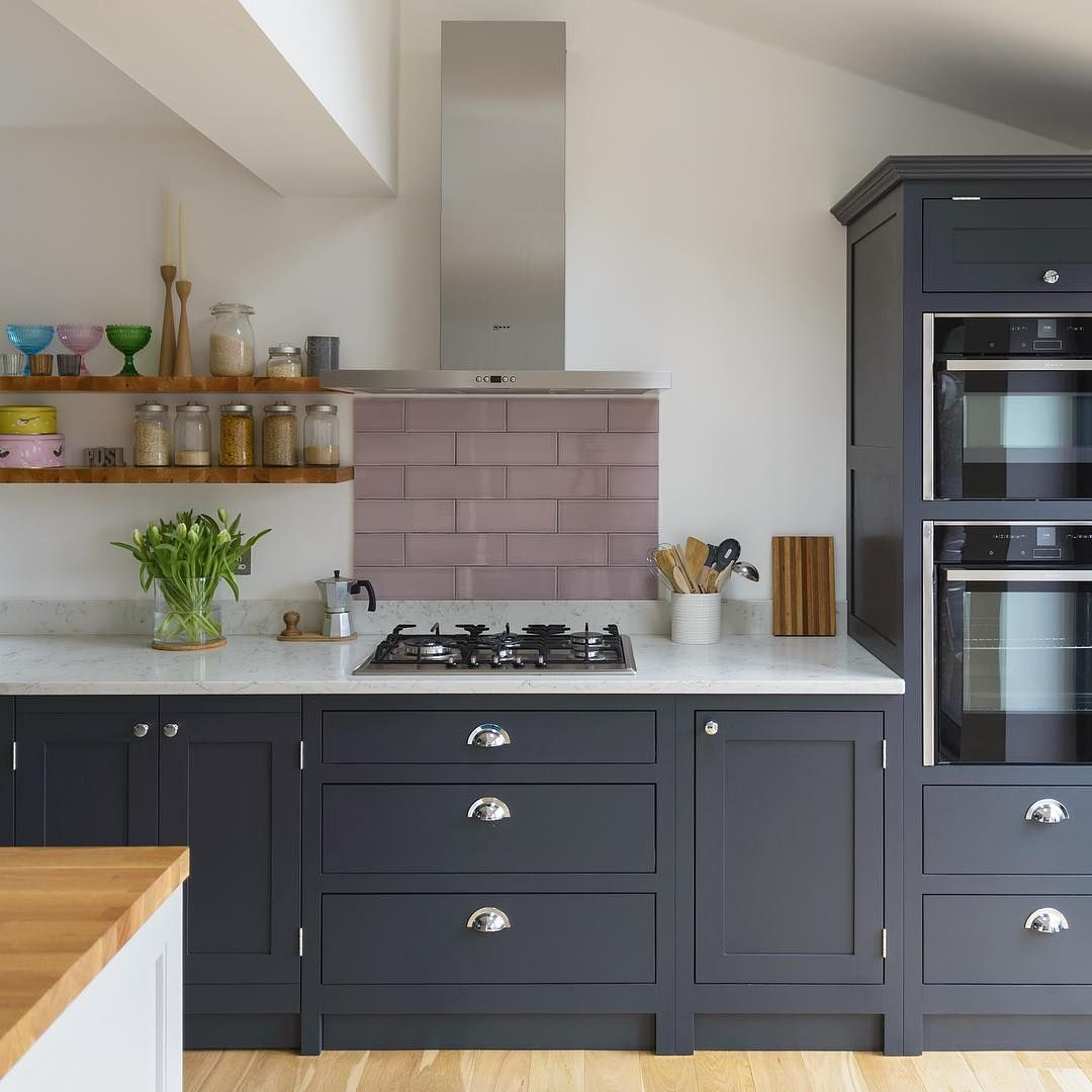 The Shaker Kitchen Company On Instagram Our Ever Popular After Midnight Painted Cabinets Look New Kitchen Cabinets Quality Kitchen Cabinets Kitchen Cabinets