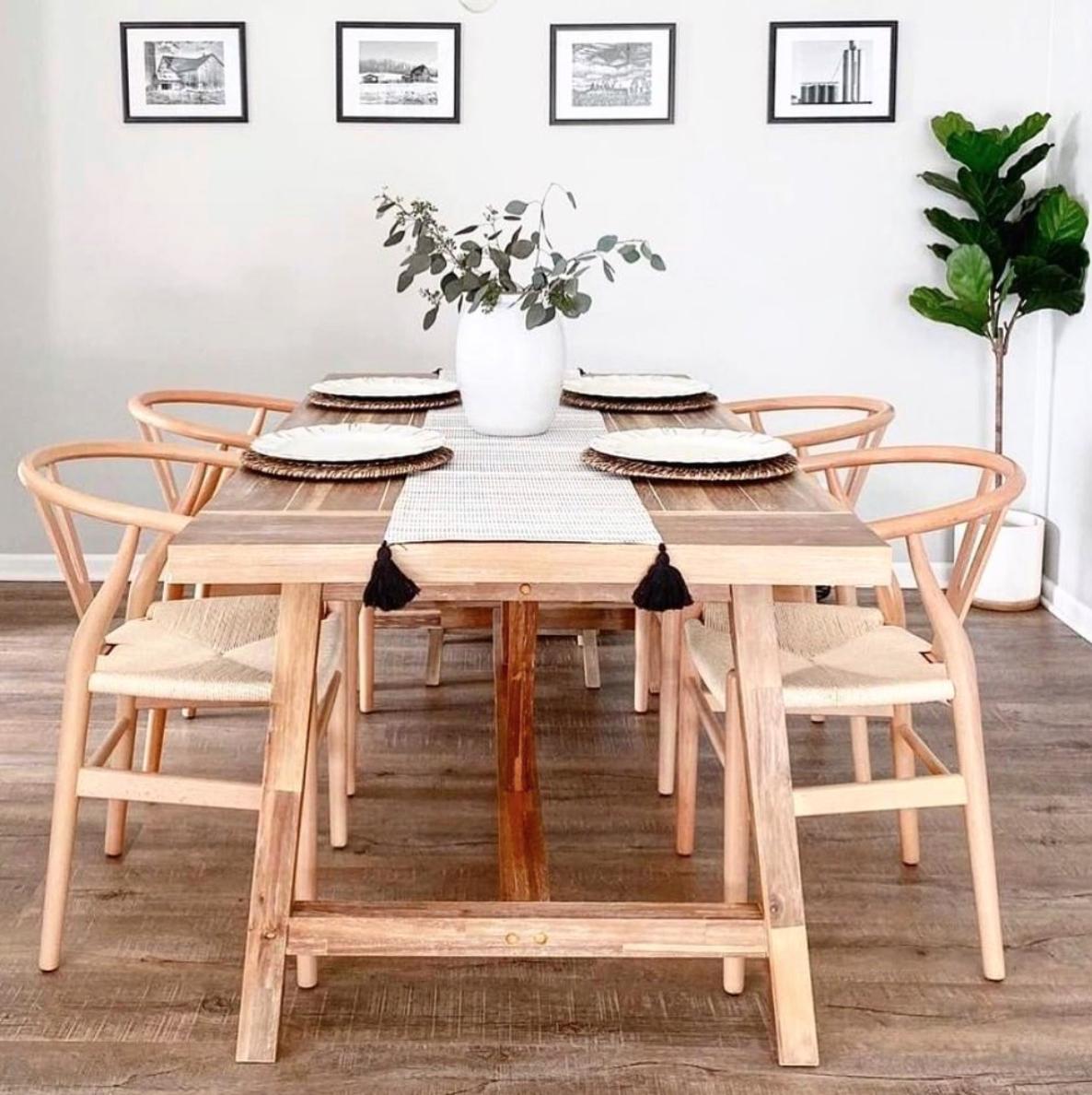 ahsap iskandinav sandalye wood scandinavian chair luks mutfaklar ev duzenleme sandalye