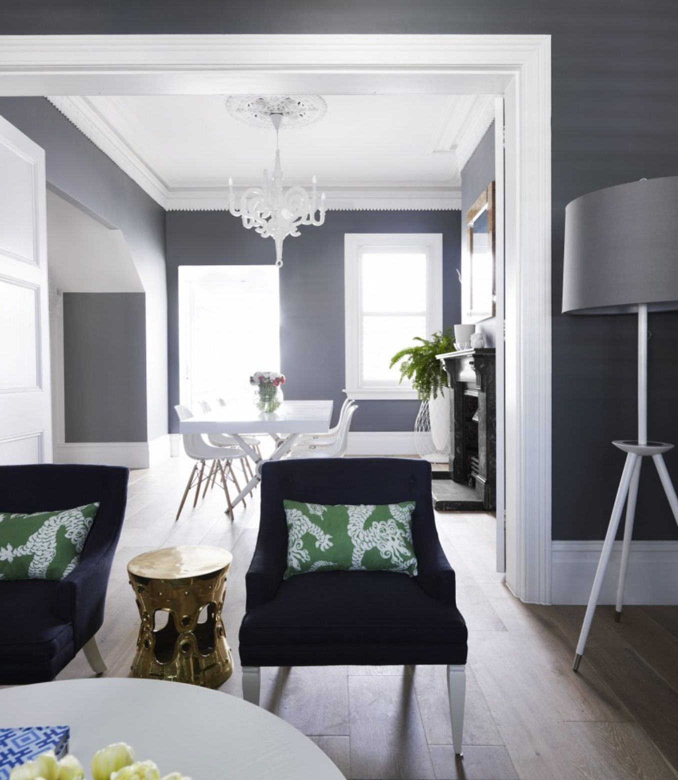 99 Beautiful White And Grey Living Room Interior: Dining Room Blue, Living Room Grey