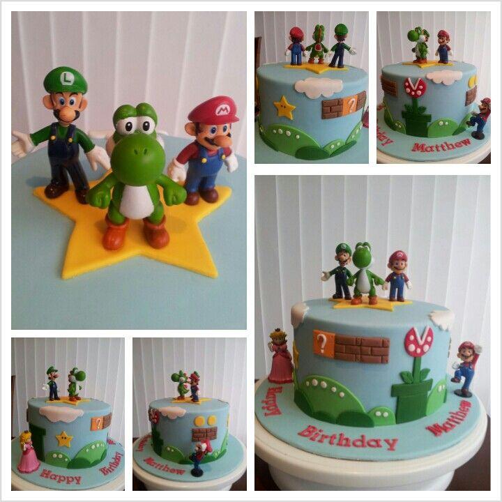 Mario bros cake 170513 mario bros cake super mario