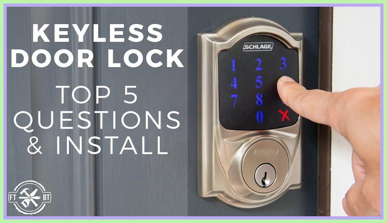 59 Reference Of Keyless Door Lock Interior In 2020 Keyless Door Lock Door Locks Keyless