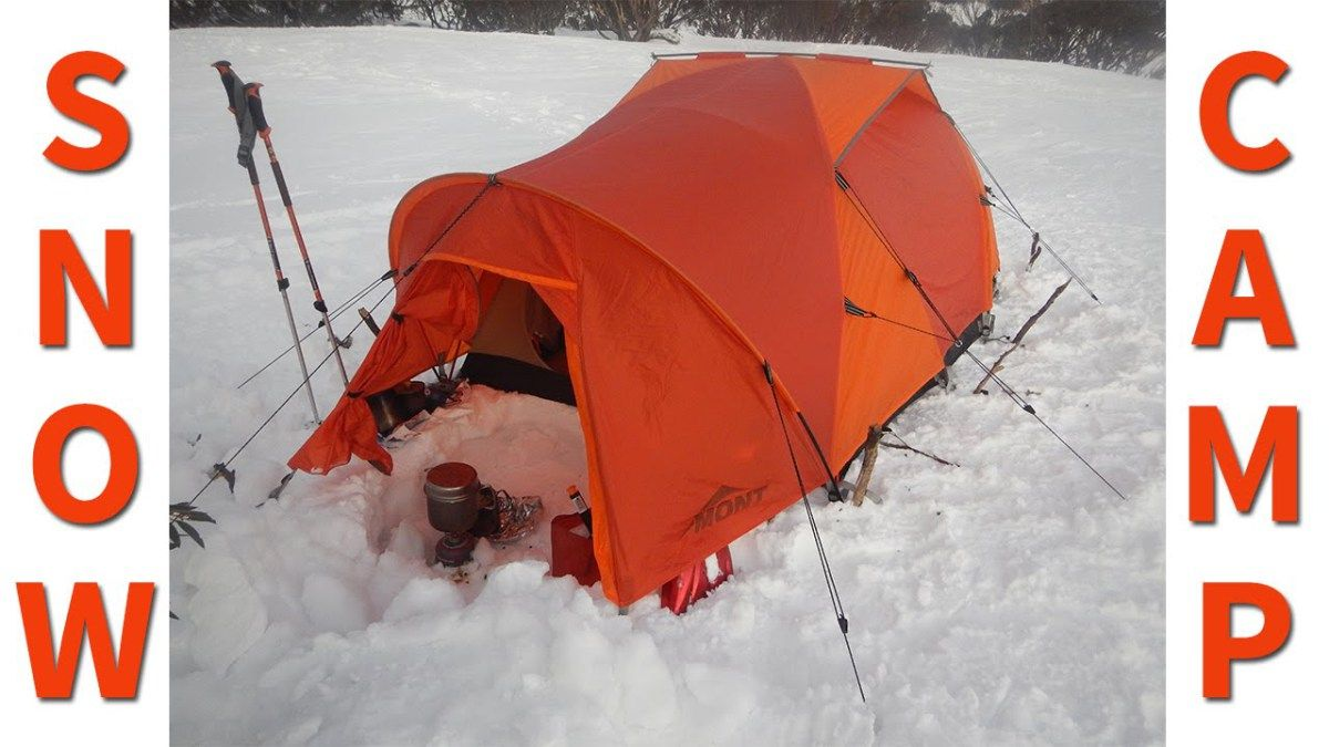 Winter Camp Setup - 3 Videos with Tips For Staying Warm ...