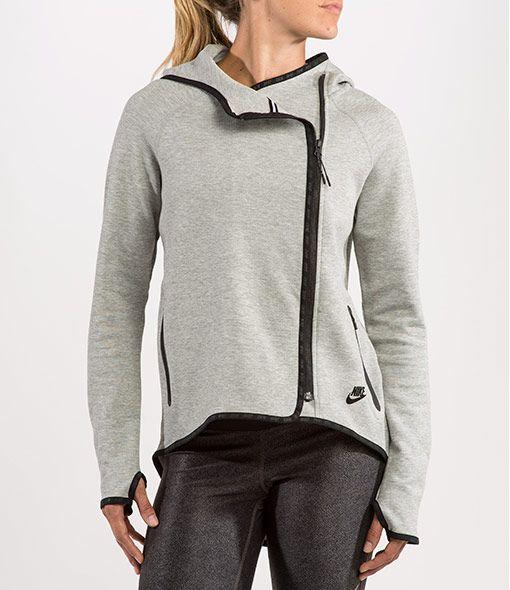 Womens Nike Tech Cape Dark Grey Heather/Black Cape