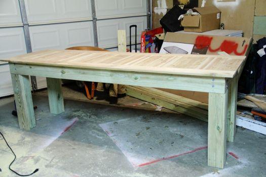 diy outdoor table my next big project pinterest diy outdoor