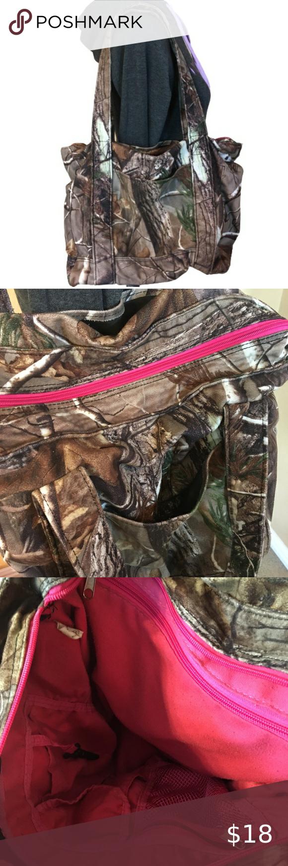 Real Tree Camouflage Shoulder Bag