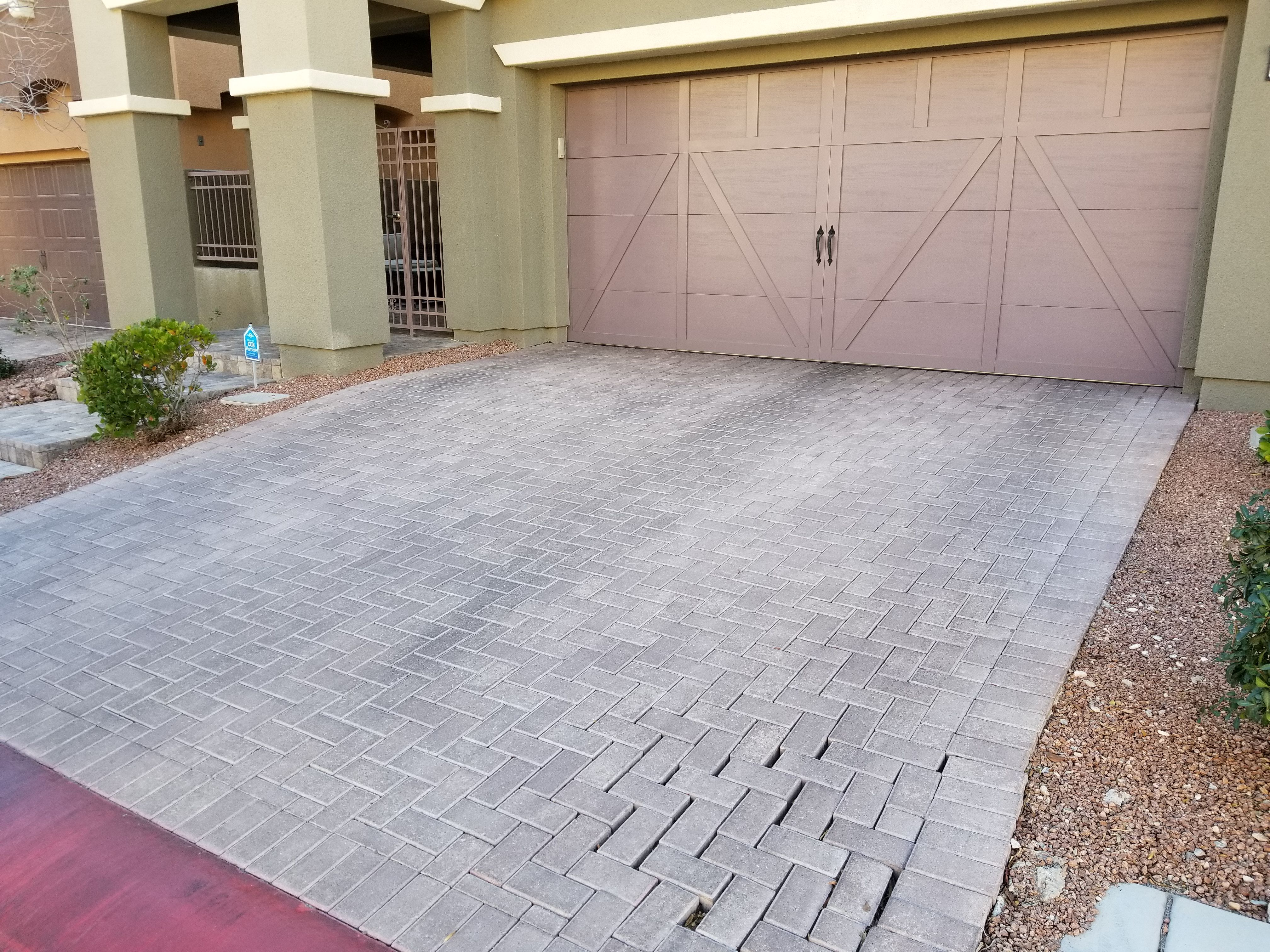 Sometimes a driveway can start to erode and lose its