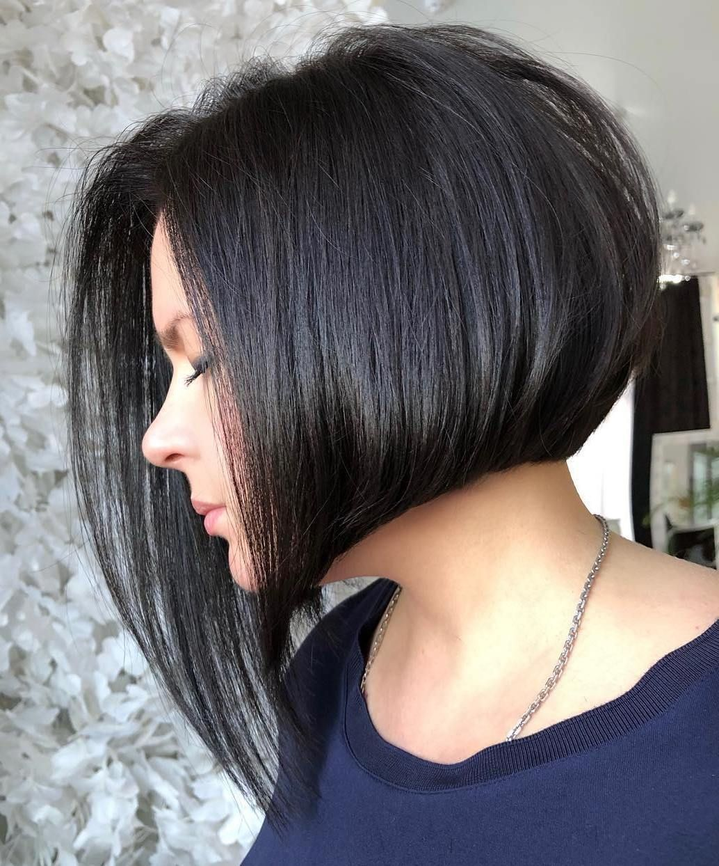 55 Bob Haircuts And Hairstyles Ideas 2020 Frisuren Kinnlang Feines Haar Mit Pony 55 Bob H In 2020 Bob Frisur Bob Frisur Hinten Kurz Vorne Lang Bob Frisuren Mittellang