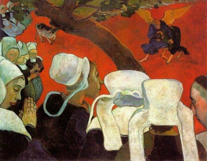Gauguin, vidění po kázání