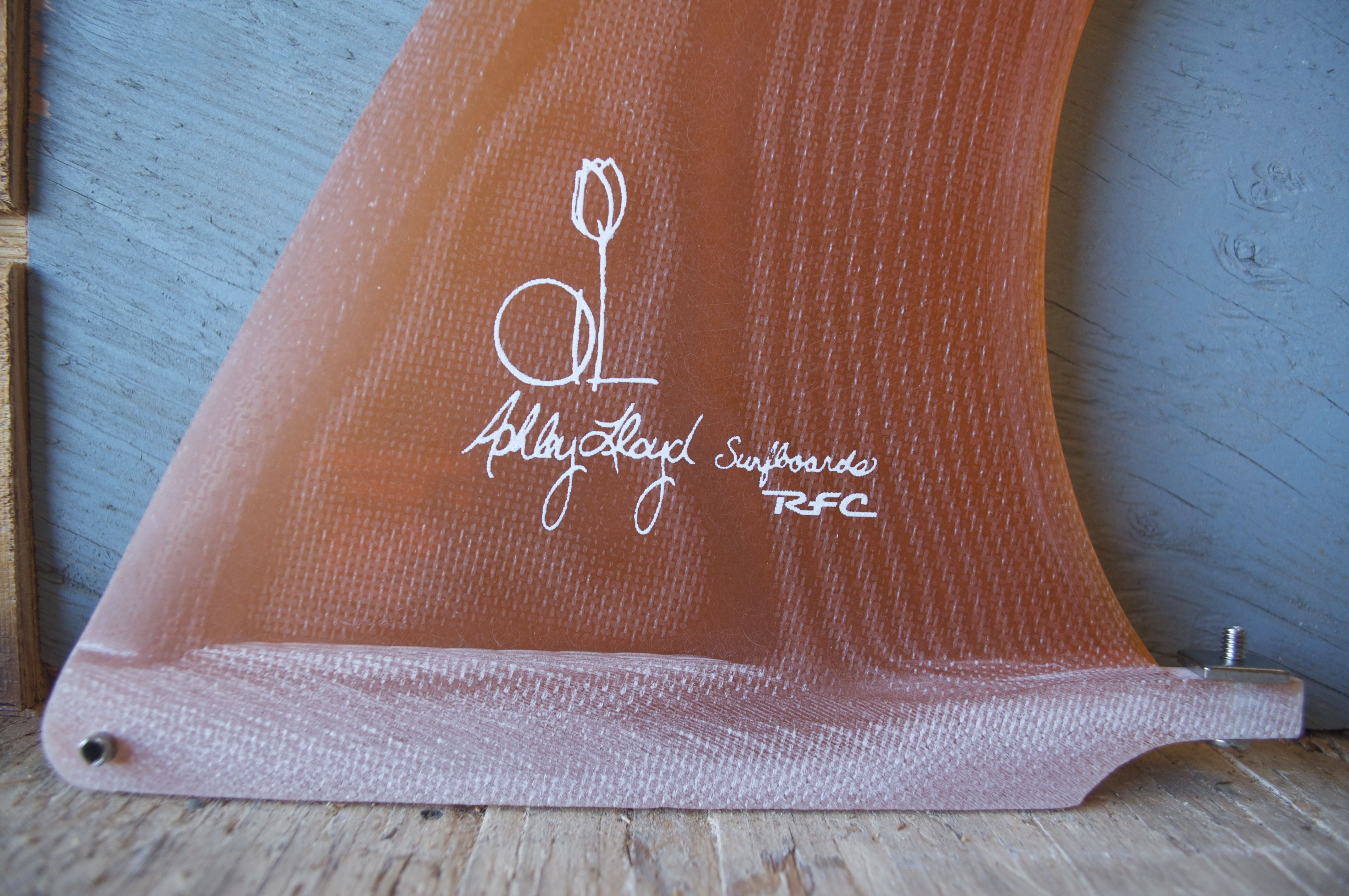 Got to shoot some new fins by Ashley Lloyd Surfboards.